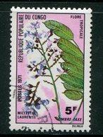 CONGO- Taxe Y&T N°48- Oblitéré (fleurs) - Congo - Brazzaville