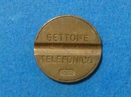 1965 ITALIA TOKEN GETTONE TELEFONICO SIP USATO 6502 - Altri