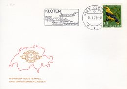 1970 Werbestempel Kloten - Storia Postale