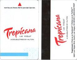 Tropicana Las Vegas A Doubletree By Hilton--2474---   Key Card, Room Key, SchLusselkarte, NEW -- 2474 - Cartes D'hotel