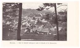1924 - Iconographie - Maîche (Doubs) - Vue Générale - FRANCO DE PORT - Vieux Papiers