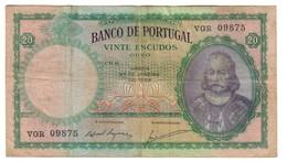 Portugal 20 Escudos 27/01/1959 - Portogallo