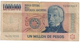 Argentina 1000000 Pesos 1983 - Argentine