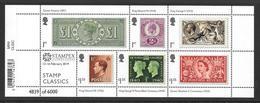 GB 2019 - Stamp Classics Minisheet With STAMPEX OVERPRINT - Blocks & Miniature Sheets