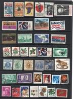 Commemorative Stamp Collection From United States ( Etats Unis ) Et Grande Bretagne UK - Etats-Unis