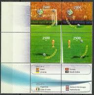 Indonesia 2006 Mi 2466-2469 MNH ( ZS8 INSmarvie2466-2469b-davWC09 ) - Copa Mundial