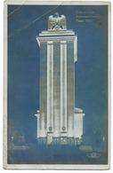 Exposition Paris 1937  - Vue Nocturne Du Pavillon All.  - Architecte : Albert Speer - Expositions