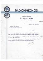 05-Studio Wax..Radio-Phonos-Photos-Radio-Sports...Briançon..(Hautes-Alpes)..19?? - France
