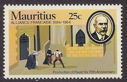 Mauritius 1984 - Centenary Alliance Francaise, French Alliance, Theatre, Production Of Faust, MNH - Maurice (1968-...)