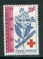 CONGO- Y&T N°496- Neuf Sans Charnière ** (croix Rouge) - République Du Congo (1960-64)