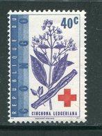 CONGO- Y&T N°498- Neuf Sans Charnière ** (croix Rouge) - République Du Congo (1960-64)