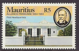 Mauritius 1984 - Centenary Alliance Francaise, French Alliance, First Headquarters, Historical Building, MNH - Maurice (1968-...)