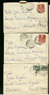 ITALIA - Lettere Dagli Anni 1920 Al 1940  -  15 Lettere - 1900-44 Vittorio Emanuele III