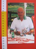 CA.16 ITALIA CARD - 1992 SPORT CICLISMO GINO BARTALI SPRITE COCA COLA GIRO D'ITALIA BICI GAZZETTA GIORNALE ROSA - Personalità Sportive