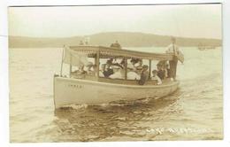 CPA Photo Postcard - New Jersey -  Lake Hopatcong -  Boat Nome II - Etats-Unis