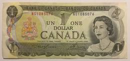 BANK OF CANADA - 1 DOLLAR - 1973 - Canada