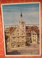 ZUG Stadthaus Mit Zytturm Svizzera Cartolina Viaggiata 1963 - ZG Zoug