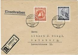 1946, Antifa-Ausstellung, Portogerechter Reko !sehr Selten !! , #9204 - 1945-60 Briefe U. Dokumente