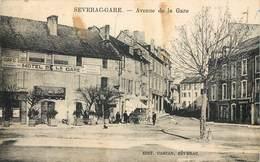CPA 12 Aveyron Severac Gare Avenue De La Gare - Vabres