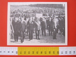 CA.16 ITALIA CARD - 1971 REDIPUGLIA UDINE MONUMENTO AI CADUTI GRANDE GUERRA FANTERIA FANTE ASSOCIAZIONE MILANO - Monumenti Ai Caduti