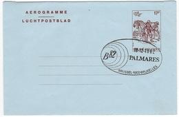 België    Aergrammen     Frans / Nederlands - Stamped Stationery