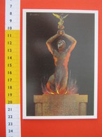 CA.16 ITALIA CARD - 2000 NOVARA MUSEO STORICO MILITARE ALDO ROSSINI MONUMENTO AI CADUTI FRASE D'ANNUNZIO - Monumenti Ai Caduti