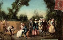 Fantaisie - Musée Du Louvres - L'Eté Par Lancret - C 4869 - Musées