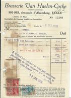 BRASSERIE VAN HAELEN-COCHE 991 CHAUSSEE D ALSEMBERG  UCCLE - Belgique