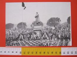 CA.16 ITALIA CARD - 1966 IV NOVEMBRE GORIZIA MONUMENTO GRANDE GUERRA FANTE FANTERIA MILITARE ASS. MILANO - Monumenti Ai Caduti