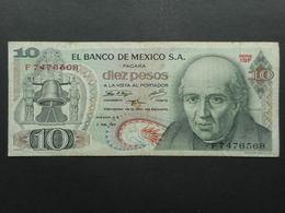Mexico 10 Pesos 1971 - México