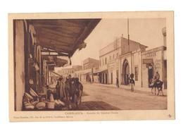 CPSM. Maroc. Casablanca. Avenue Du Général Drude. Commerces. Tabacs. Animation. Photo Flandrin. - Händler