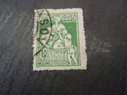 Timbre Asistenta Sociala 10 Bani 1921 - Otros