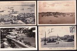 Recolha De Apuramento De 17 Postais Antigos LISBOA - Liquidation De Collection De 17 CPA Lisbonne - Ver 17 Scans ! - Lisboa