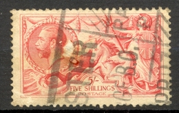 Grande Bretagne - 1912/1922 - Yt 154 - George V - Tirage Bradbury Wilkinson - Oblitéré - 1902-1951 (Könige)