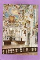 STEINGADEN DIE WIES Wallfahrtskirche Des Prämonstatenserklosters Blick Vom Chor In Den Westlichen Teil Mit Orgelempore - Weilheim