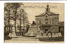 CPA - Carte Postale - Belgique- Bourg Léopold- Hotel De Ville -VM1399 - Borgloon