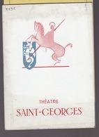 Spectacle Theatre Saint Georges / Programme 1962 Patate Achard / Vilbert, Jourdan, Svetlana Pitoeff - Programmes