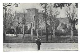 42 Dép.- Roche-La-Molière (Loire). - Château Neyron De St-Julien. H.Cuny. Carte Postale écrite Au Dos,dos Séparé,légères - Autres Communes