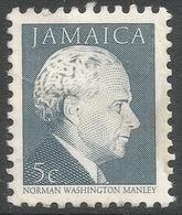 Jamaica. 1987 Portraits. 5c MH. SG 676B - Jamaica (1962-...)