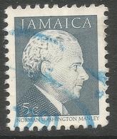 Jamaica. 1987 Portraits. 5c Used. SG 676B - Jamaica (1962-...)