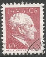 Jamaica. 1987 Portraits. 10c Used. SG 681B - Jamaica (1962-...)