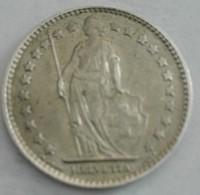 Switzerland Silver 1 Franc 1963 - Svizzera