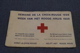 Superbe Carnet Croix Rouge,1928,Congo Belge,superbe état De Collection,complet - Congo Belge - Autres