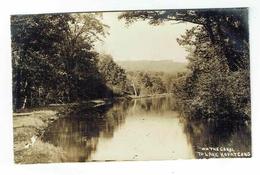 CPA USA Postcard Photo - On The Canal To Lake Hopatcong - Harris Pittston & Arlington - Autres