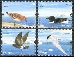 """PORTOGALLO / PORTUGAL 2008** - Uccelli / Birds - """"Anno Polare Internazionale"""" - 4 Val. MNH, Come Da Scansione. - Uccelli"""