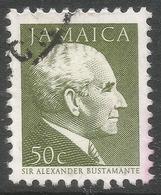 Jamaica. 1987 Portraits. 50c Used. SG 685B - Jamaica (1962-...)