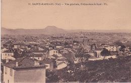 83-SAINT-RAPHAEL- VUE GÉNÉRALE FRÉJUS DANS LE FOND - Saint-Raphaël