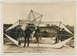 (Aviation) Ligne Siegfried . Barrages De Ballons Captifs Et Cerfs-volants En Allemagne . Un Cerf-volant . 1939 . - Aviation