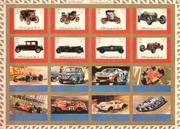 Ajman Ungezähnter Bogen Mi. 2749B / 2764B Oldtimer / Sportwagen **/MNH - Cars