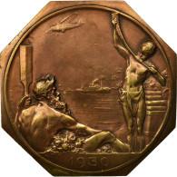 Belgique, Médaille, Exposition Internationale D'Anvers, 1930, Josuë Dupon - Belgique
